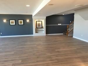 Beautiful new flooring has been installed.